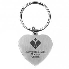 Promotional Promo Heart Keychain