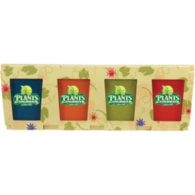 Flower Seed Planter Set (4 Pack)