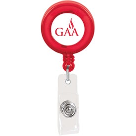 Personalized Plastic Retractable Badge Holder