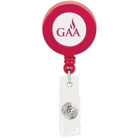 Plastic Retractable Badge Holder for Customization
