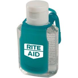 Logo Protect Antibacterial Gel Caddy