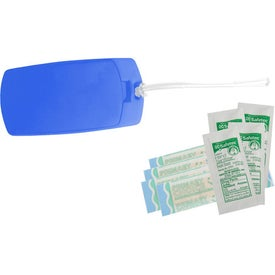 Company Protect Travel First Aid Tag