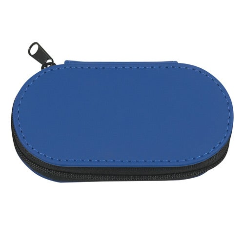 Royal Blue PU Leather Look Manicure Set