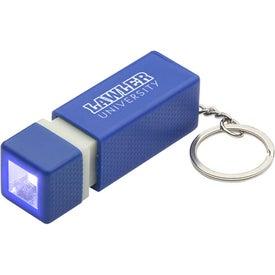 Pull-Lite LED Key Chain for Marketing
