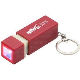 Printed Pull-Lite LED Key Chain