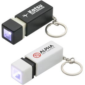 Logo Pull-Lite LED Key Chain