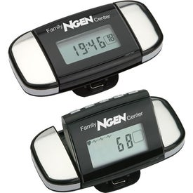 Calibration Pulse Reader Pedometer Branded with Your Logo