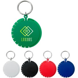 Purse Hook with Key Ring for Customization