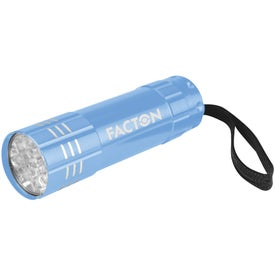 Custom Push Button Aluminum Flashlight