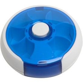 Promotional Push-It Pill Dispenser