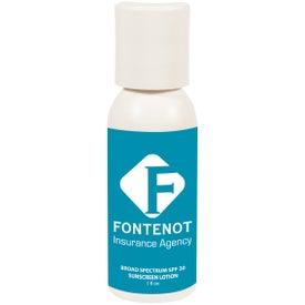 Branded Push Top SPF 30 Sunscreen