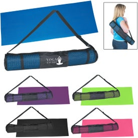 PVC Yoga Mat and Carrying Case