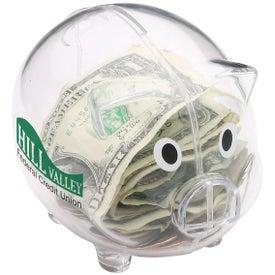 Imprinted Nostalgic Piggy Bank