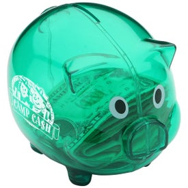 Nostalgic Piggy Bank Imprinted with Your Logo