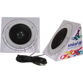 Promotional Pyramid Shape Portable Speakers