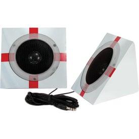 Company Pyramid Shape Portable Speakers