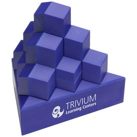 Customized Pyramid Stack Puzzle