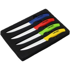 Quick Cut Ceramic Steak Knife Set