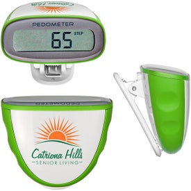 Quick-Read Pedometer Giveaways