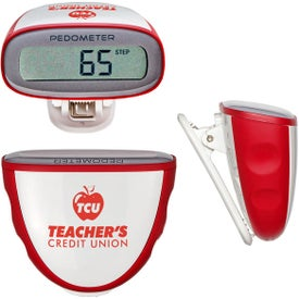 Quick-Read Pedometer Branded with Your Logo