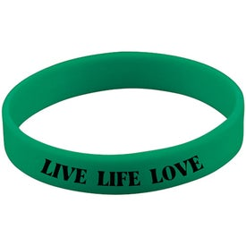 Monogrammed Quick Turn Pad Printed Wristbands