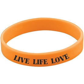 Quick Turn Pad Printed Wristbands for Advertising