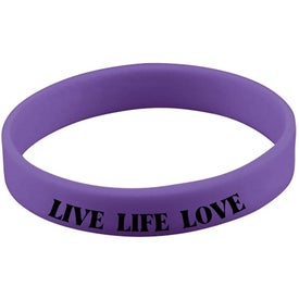 Quick Turn Pad Printed Wristbands Branded with Your Logo