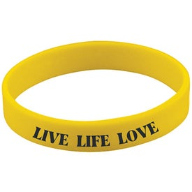 Promotional Quick Turn Pad Printed Wristbands