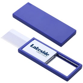 Quick Check Comb and Mirror Imprinted with Your Logo