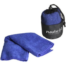 Printed Quick Dry Towel and Pouch
