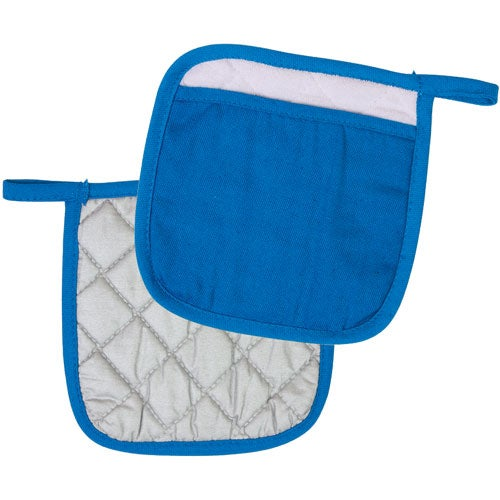 Reflex Blue Quilted Pot Holder