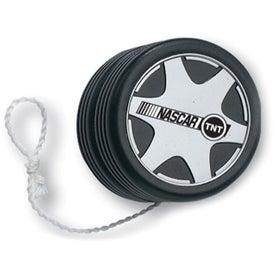 Personalized Racing Tire Design Yo-Yo