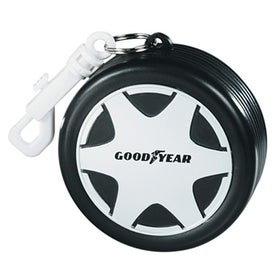 Racing Tire with Hook Clip