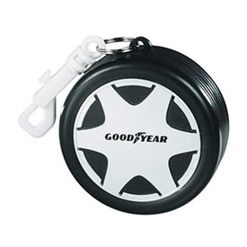 Racing Tire with Hook Clip and Poncho