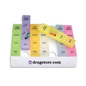 Rainbow 24/7 Medicine Tray