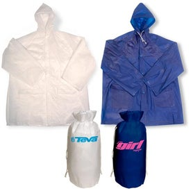 Rain Slicker-In-A-Bag Branded with Your Logo