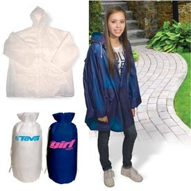 Imprinted Rain Slicker-In-A-Bag