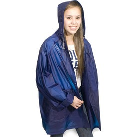 Rain Slicker-In-A-Bag with Your Slogan