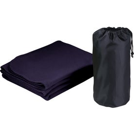 Rally Blanket with Pouch for your School