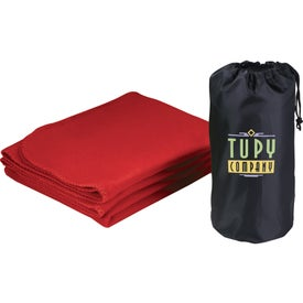 Rally Blanket with Pouch Printed with Your Logo
