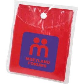 Logo Rally Disposable Poncho