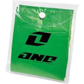Rally Disposable Poncho for Marketing