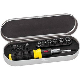 Ratchet Tool Set in Tin Box with Your Slogan