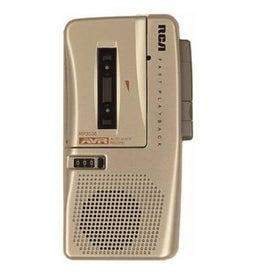 RCA Microcassette Recorder