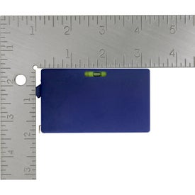 Rectangular Tape Measure with Level for Marketing