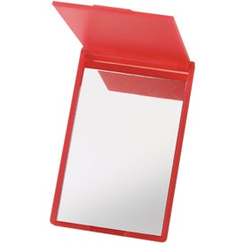 Compact Rectangle Mirror for Advertising