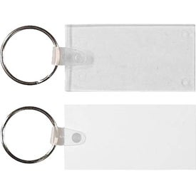 Rectangle Key Fob for Your Church