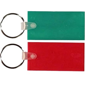 Rectangle Key Fob for Promotion