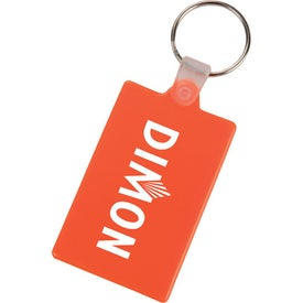 Customized Rectangle Key Tag