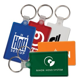 Rectangle Key Tag (Color)